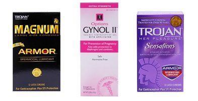 spermicidal lube condoms
