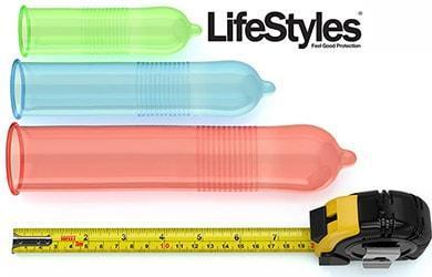 condom sizes lifestyles