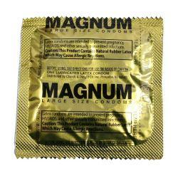 Magnum sized condoms