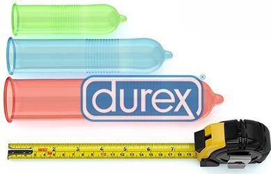 Durex Condom Sizes Size Chart With Widths Lengths Updated 2019