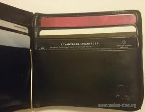 unique pull condoms wallet