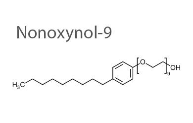 Nonoxynol 9 spermicide