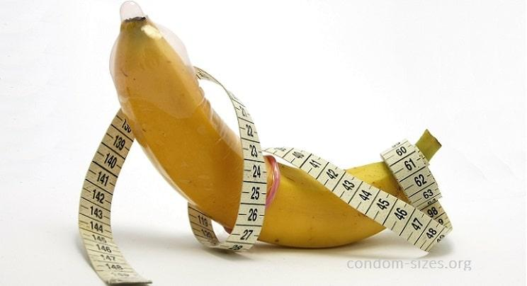 condom width to circumference