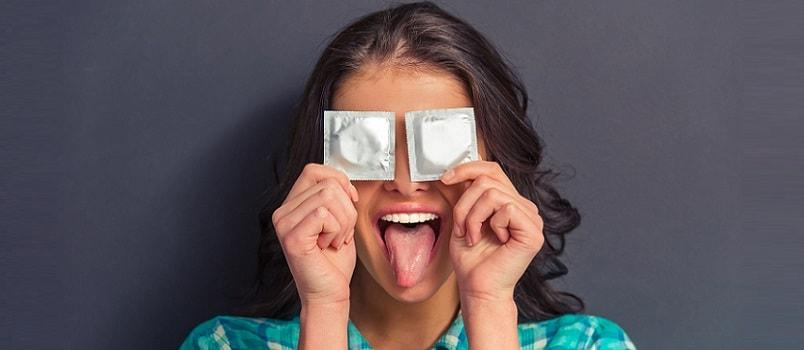 disposing condoms